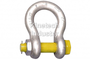 Yellow Pin Shackles – bow shackles with safety pin code G-3163