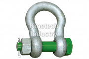 Green Pin Standard Shackles – bow shackles with safety bolt type G-4163