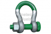 Green Pin Super Shackles – bow shackles with safety bolt code G-5263