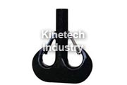Double forged hook according to DIN 15402