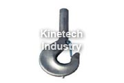Simple forged hook according to DIN 15401