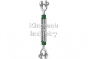 Green Pin turnbuckles jaw-jaw – generally to ASTM F-1145-92 code G-6313