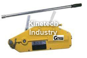 Gripper wire rope hoist