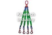 Four Leg Flat Polyester Webbing Slings