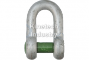 Green Pin Sunken Hole Shackles – dee shackles with safety bolt dee shackles with square hole screw pin code G-4159