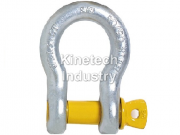 Yellow Pin Shackles – bow shackles with screw collar pin code G-3161