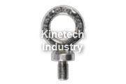Stainless steel eye bolt length as DIN 580